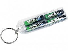 Kulcstartós Duracell 1000 mAh aaa elem 4db