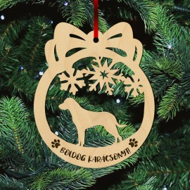 Fa karácsonyfadísz – Vizsla