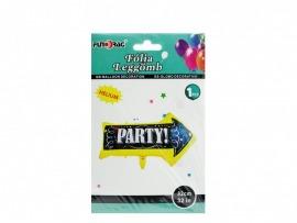 Party nyíl fólia lufi