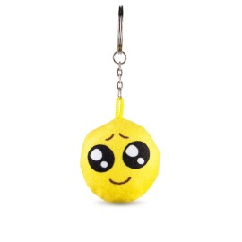 Nagyszemű emoji kulcstartó