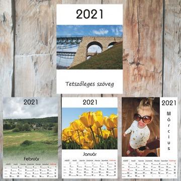 A4 - Egyedi fényképes naptár
