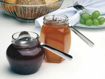 Méz és lekvár görbekanál