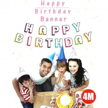 Happy Birthday füzér