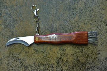 Kulcstartós gombász kés