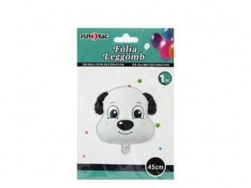 Kutya fej fólia lufi héliumhoz