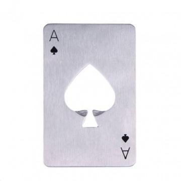 Pókerkártya sörnyitó - Kör ász