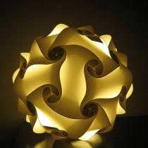 Kreatív puzzle lámpa – gömb