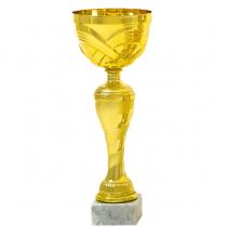 Serleg - Homokfújt sávos mintával 22 cm