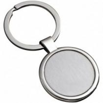 Gravírozható kör alakú kulcstartó