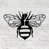 Bakelit óra - méhecske