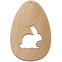 Fa húsvéti dísz - nyuszi